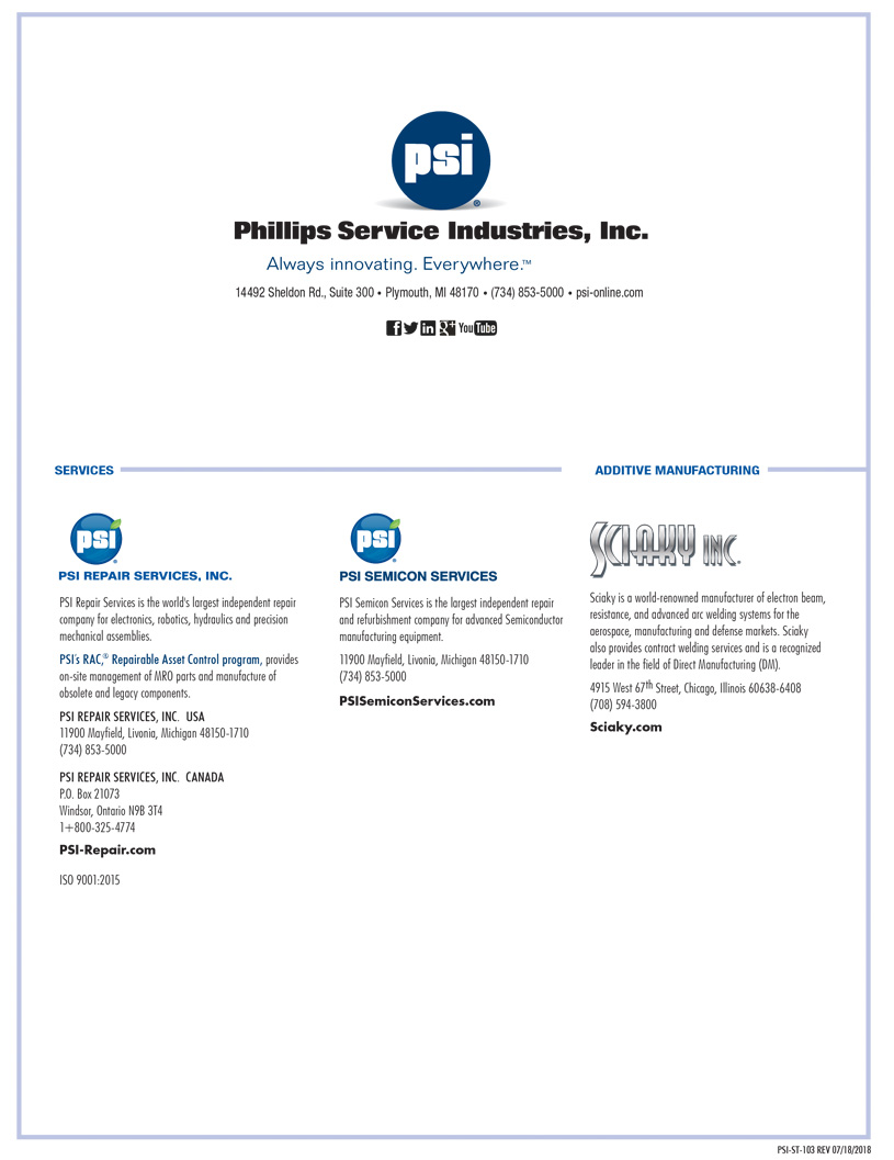 PSI Family of Companies
