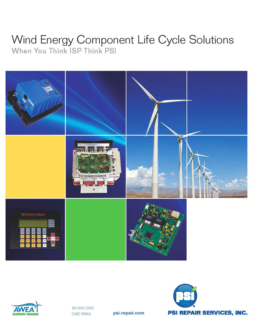 PSI Wind Energy Component Life Cycle Solutions
