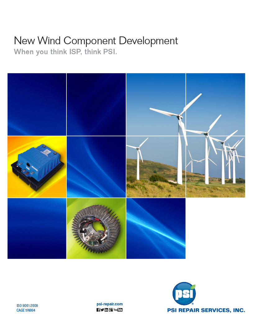 PSI Wind Turbine Component Development